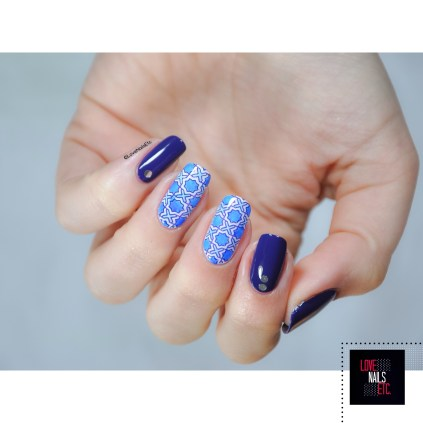 Twin Stamping Konad Square 20 - Porcelain Nails