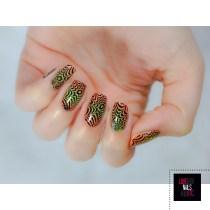 Nail Art illusion - Major Dijit 09 - Modern Nails Art