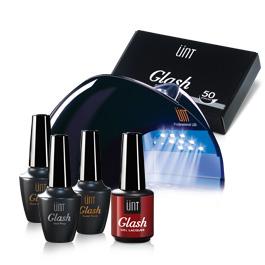 Kit à 85€: 1 Nail prep - 1 super bonde - 1 Base & top coat - 1 lampe LED - 1 vernis gel - Papillottes (50 pcs/ boîte)