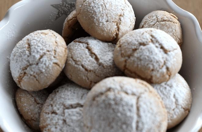 Marzipan-Spekulatius Cookies