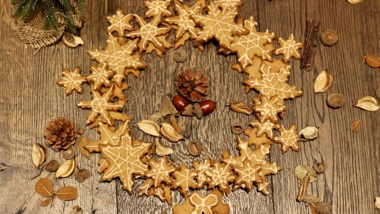 Weihnachtsbäckerei – Coffee-Stars