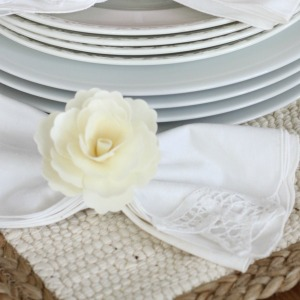 Easy Napkin Rings 10 Minute Decorating | Love of Home