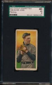 1911 T206 Joss front