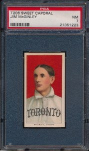 1909 T206 McGinley Front