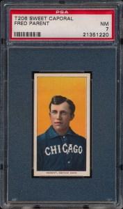 1909 T206 Parent Front