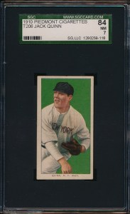 1909 T206 Quinn Front