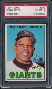 1967 Topps Mays LOTG