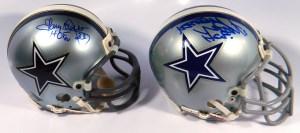 Dallas Cowboys Mini Helmets