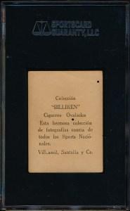 1923 Billiken Mendez Back