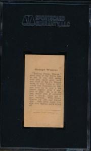 1912 T207 Waver Back