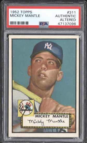 1952 Mantle Front