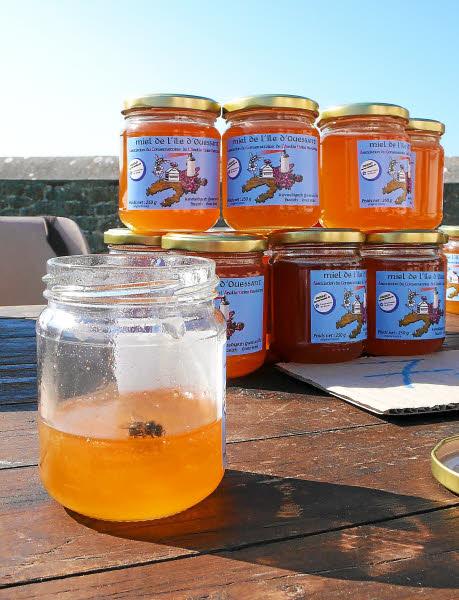 Le miel de l'associationdu conservatoire de l'abeille noire