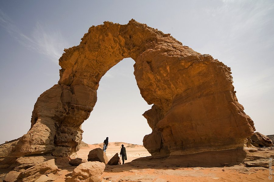 Путешествие по пустыне Сахара