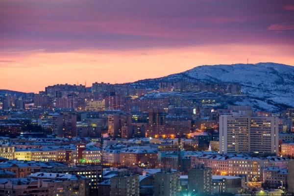 Мурманск — крупнейший город за Северным полярным кругом