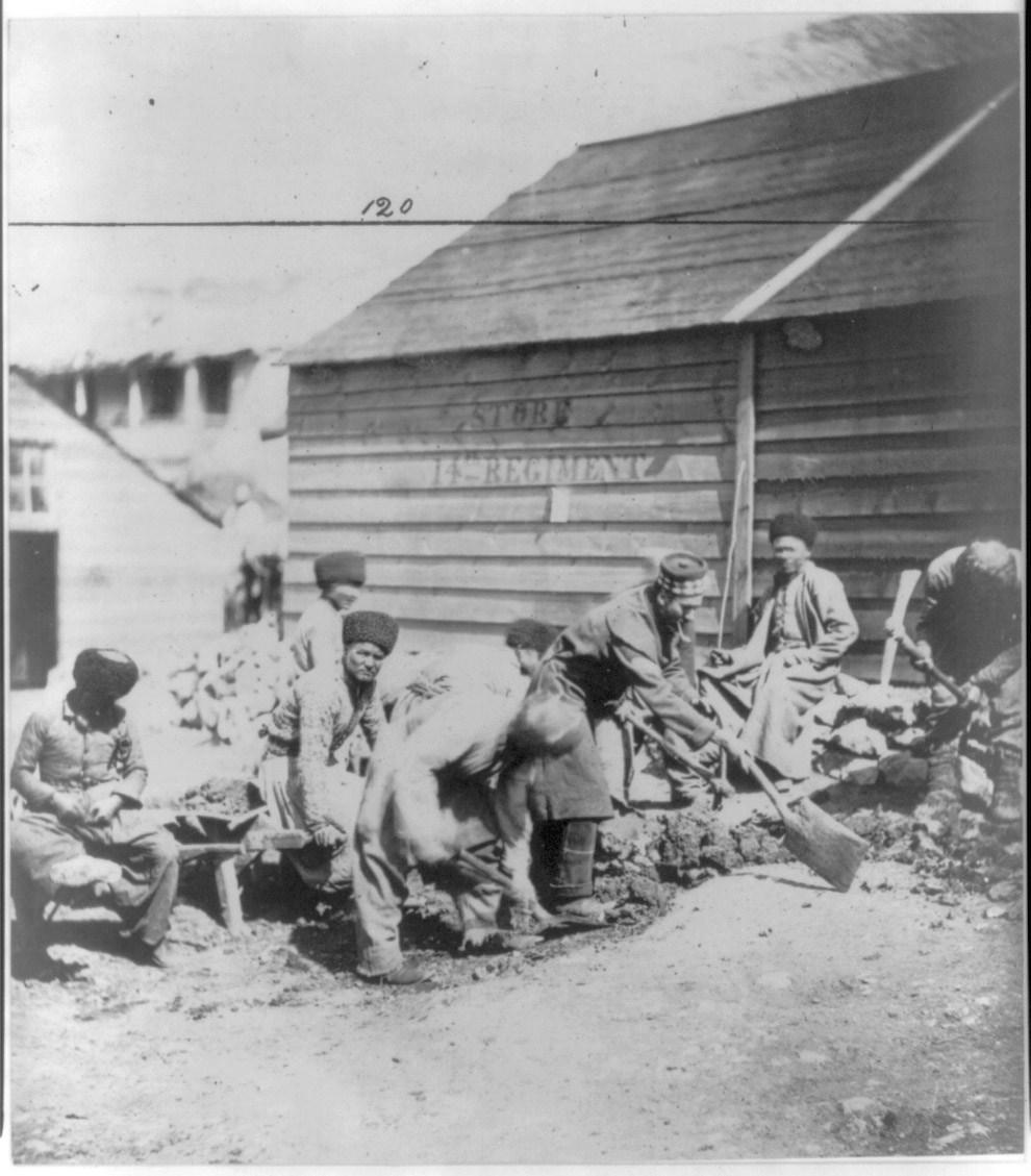 Группа татар в Балаклаве