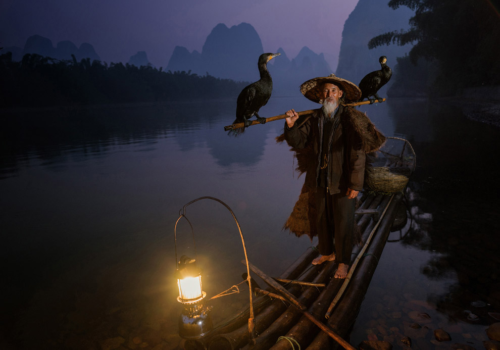 уходит рыбак в последний путь