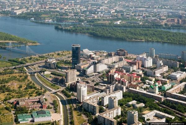 Красноярск и красноярские Столбы с высоты | ФОТО НОВОСТИ
