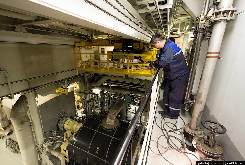 Главная силовая установка ледокола