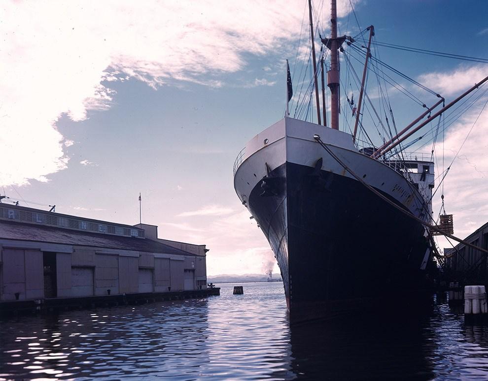 Пассажирский лайнер Borinquen в порту Сан-Хуана.