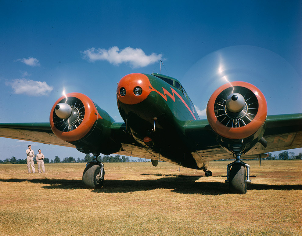 Lockheed 10B Electra.