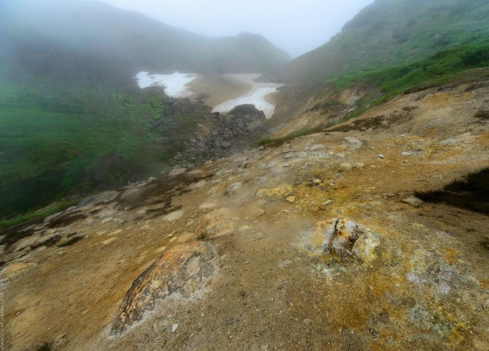 Подножие сопки Скалистой