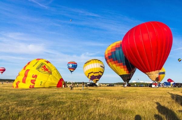 Полет воздушных шаров в Минске | ФОТО НОВОСТИ