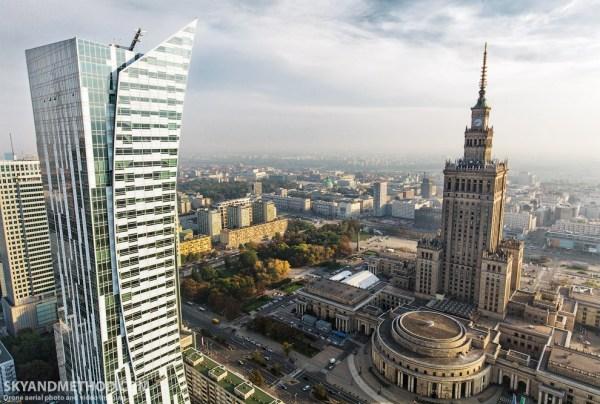 Виртуальный полет над Варшавой. Фото | HRONIKA.info