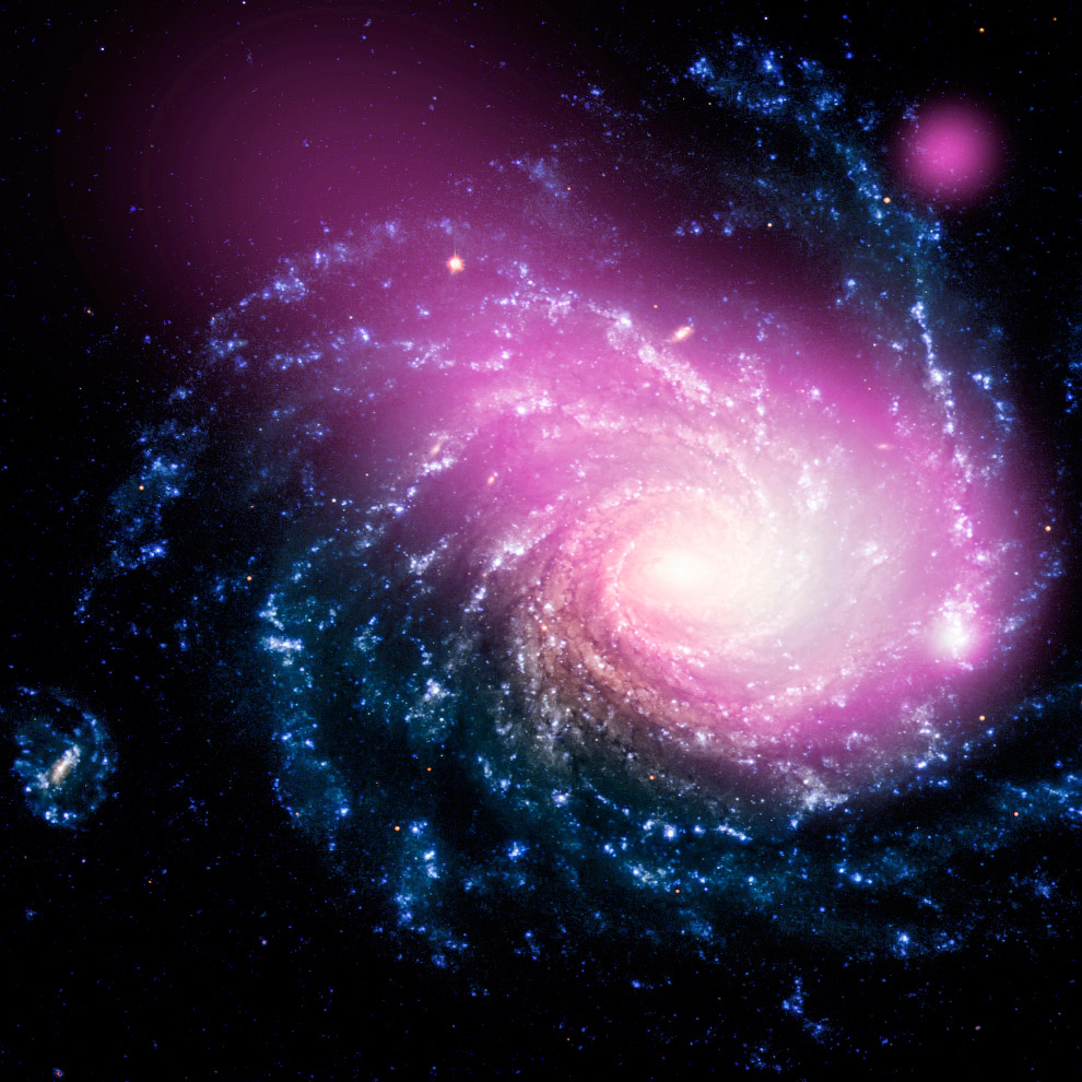 уже все галактики вселенной картинки снижением продуктивности, распадом