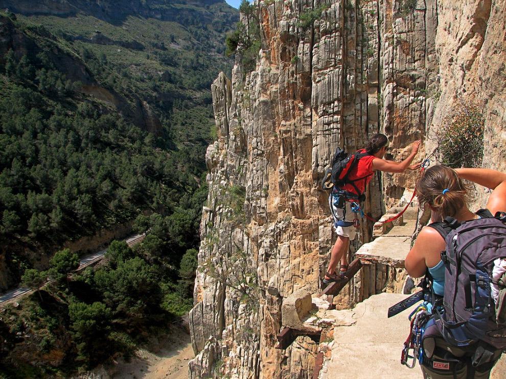 №5. Горная тропа Эль Каминито дель Рей, Испания