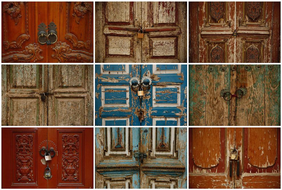 Двери мечетей в Кашгаре, Синьцзян