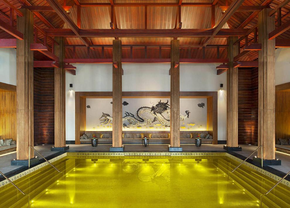 Открытый спа-центр St Regis Lhasa в Тибете