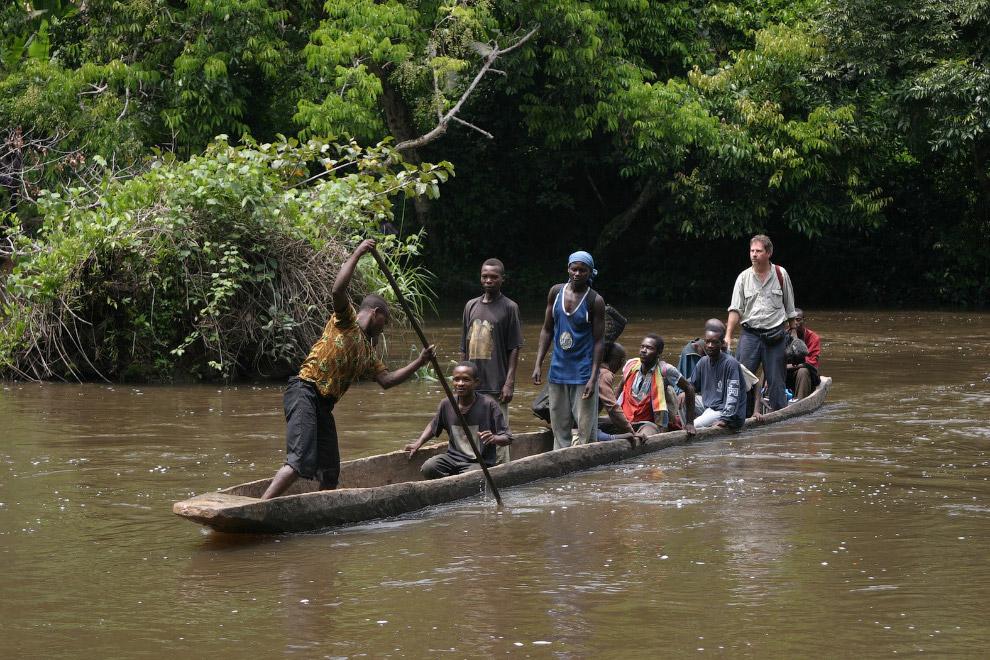 - Rio Congo na África Central