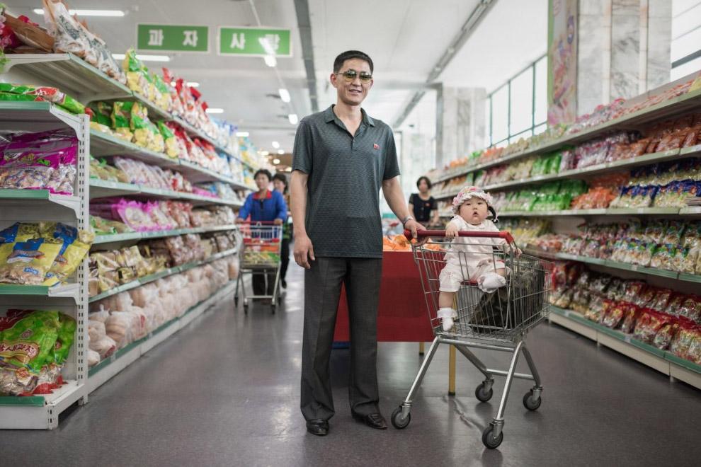 И снова мы в магазине Пхеньяна