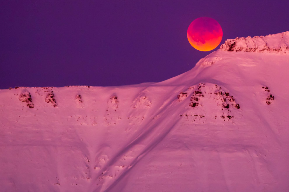 SUPERMOON-SIGHTING/NORWAY