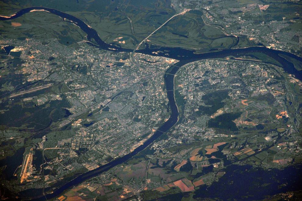 Усть донецкий фото из космоса