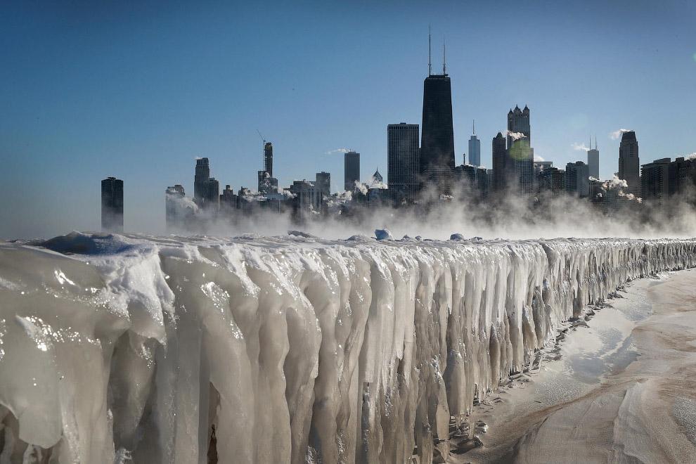 Озеро Мичиган, Чикаго, штат Иллинойс