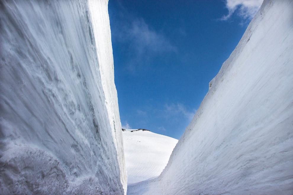 Tateyama Kurobe Alpine: снежный маршрут