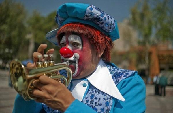 Всемирный съезд клоунов в Мексике   ФОТО НОВОСТИ