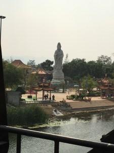 Buddhist statue, Kanchanburi, Thailand