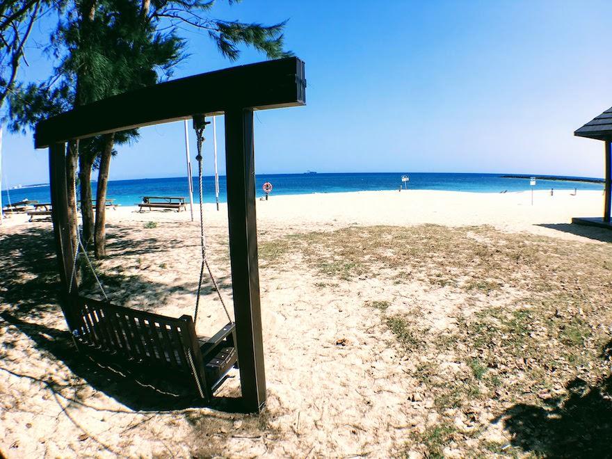 澎湖(ポンフー)のビーチ