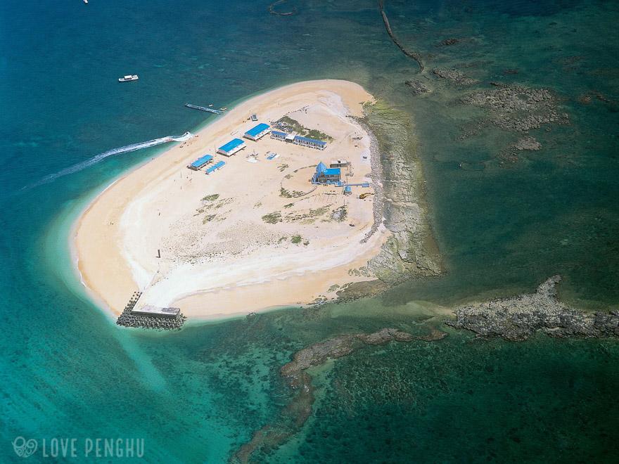 澎湖(ポンフー)の離島「険礁嶼」