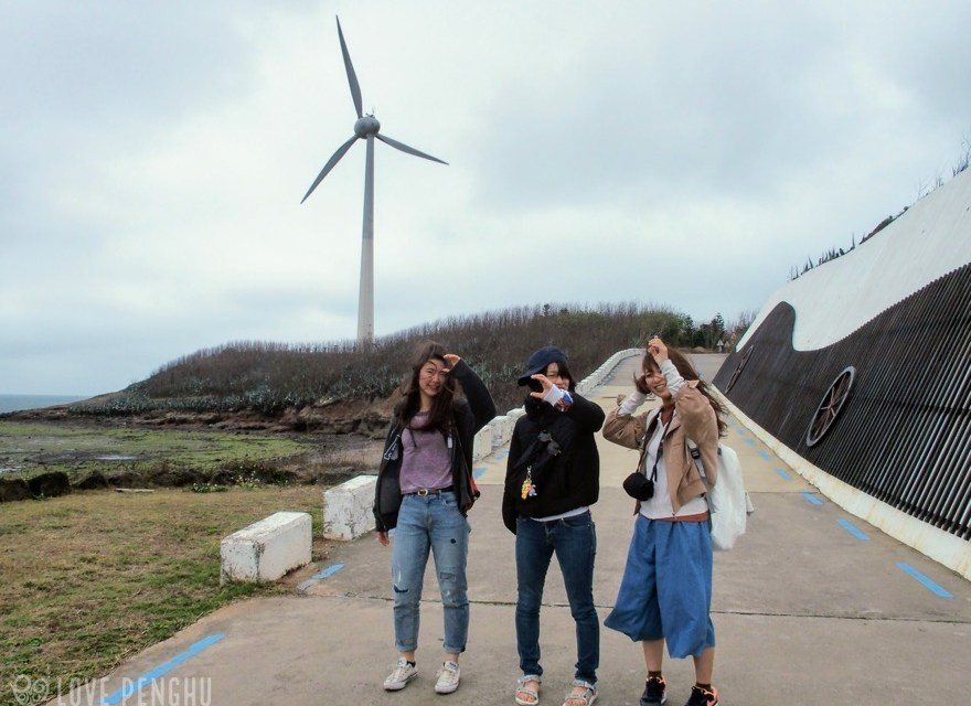 澎湖(ポンフー)に季節外れの台風がやって来た
