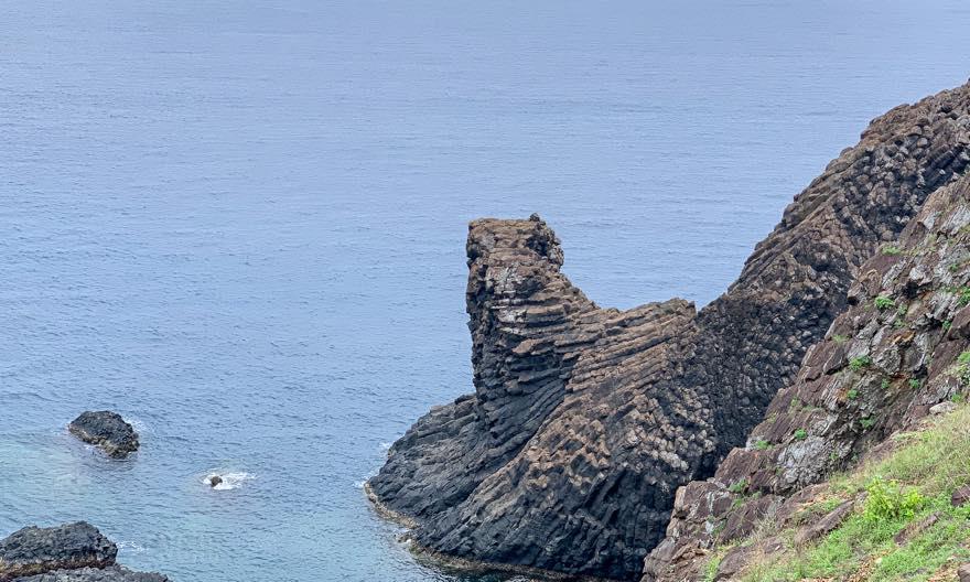澎湖(ポンフー)七美の獅子岩