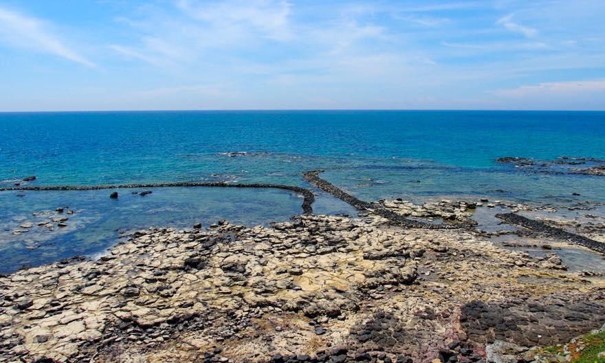 澎湖(ポンフー)の離島「吉貝(ジーベイ)」に現存する石滬