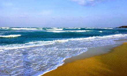 夏と冬で違うキレイを楽しめる龍門ビーチ