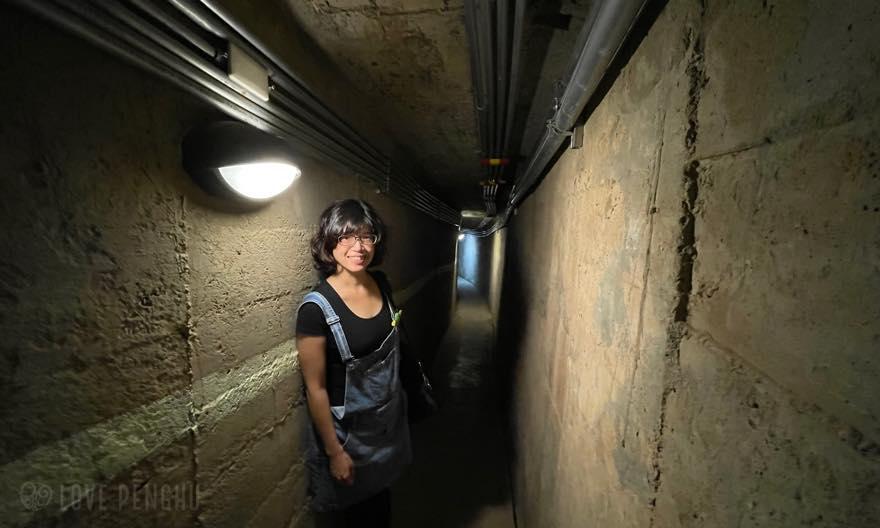 700メートルを越す秘密の地下基地「龍門閉鎖陣地」