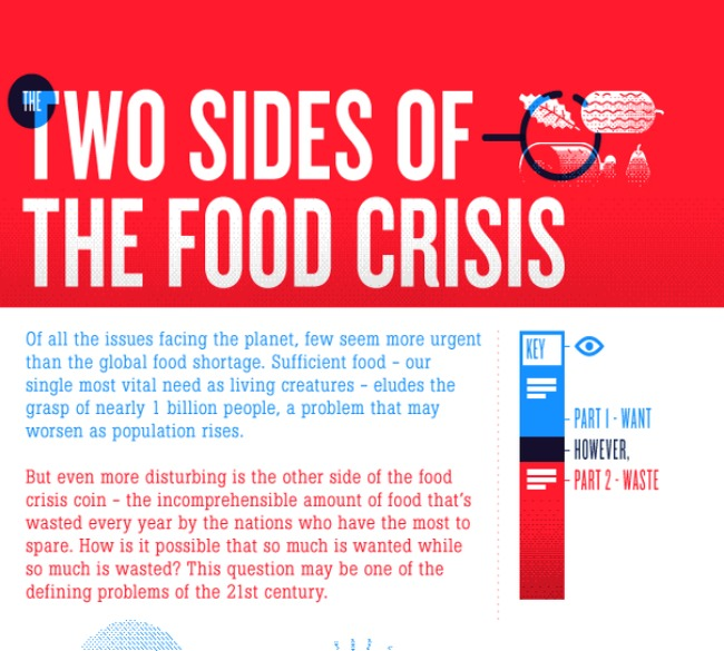 Two Sides to the Food Crisis