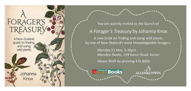 A Foragers Treasury by Johanna Knox