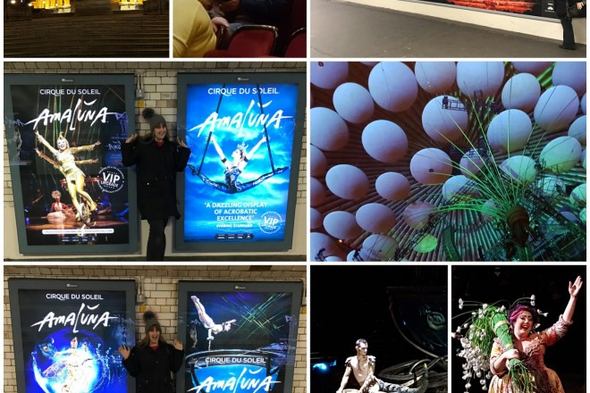Cirque Du Soleil Amaluna at The Royal Albert Hall collage