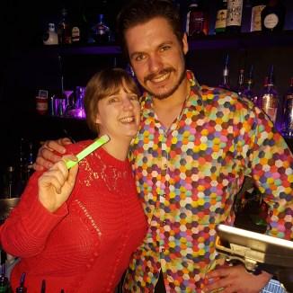 GlowMcGlow ,me and barman